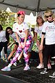 miley cyrus is charitable queen at l a county walk to defeat als 07