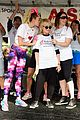 miley cyrus is charitable queen at l a county walk to defeat als 14