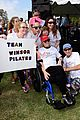miley cyrus is charitable queen at l a county walk to defeat als 19