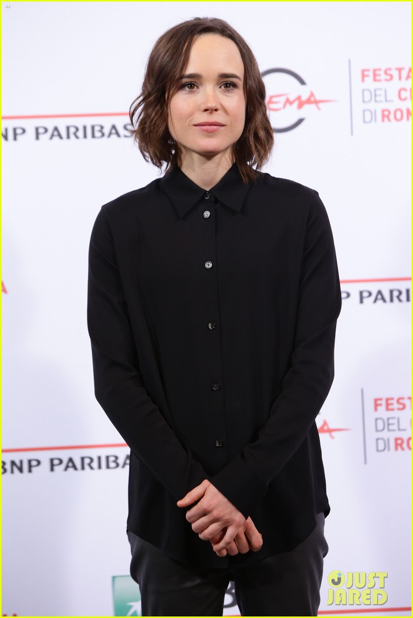 Ellen page girlfriend samantha thomas freeheld rome premiere 153486064
