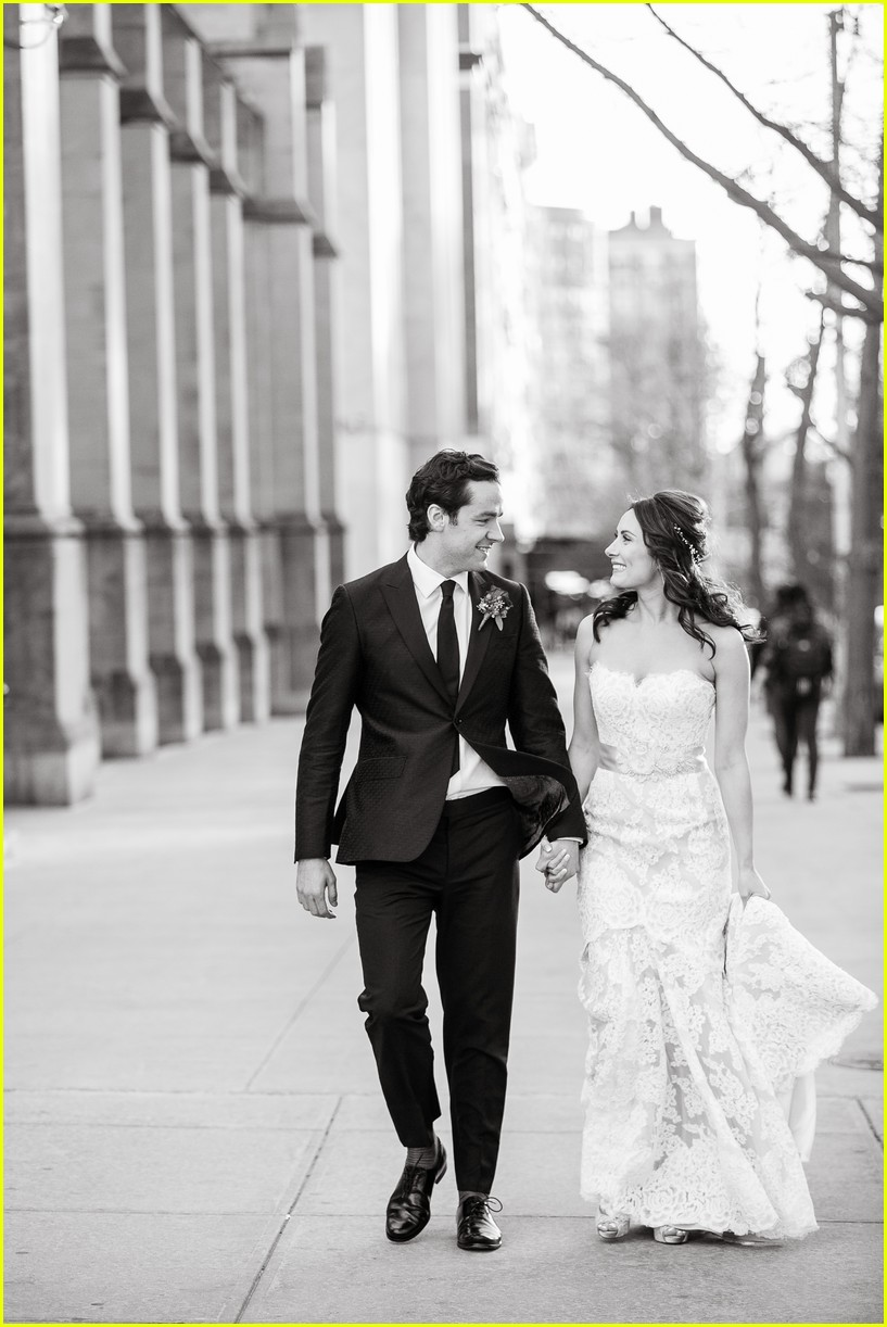 laura benanti shares her super romantic wedding photos