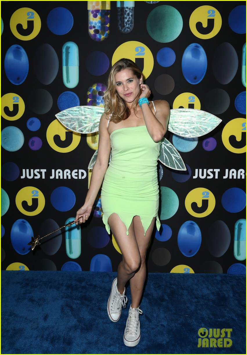 Kat Graham Goes Incognito as Mike Wazowski at the Just Jared ...