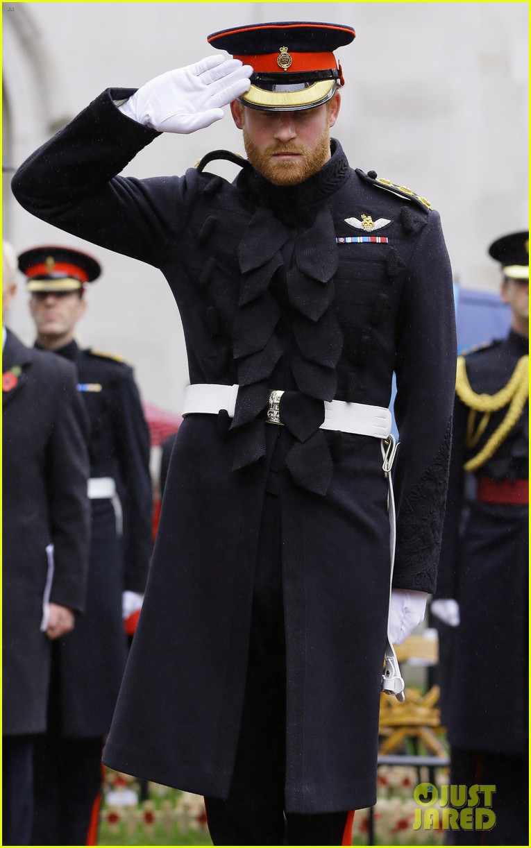 Prince Harry Pays Respect To Britain's Fallen Soldiers At ...
