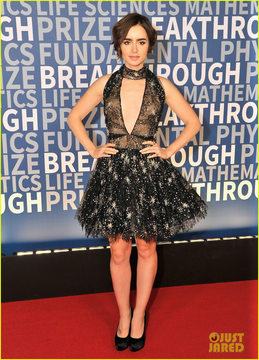Lily collins zuhair murad dress is amazing photo 3503918 lily