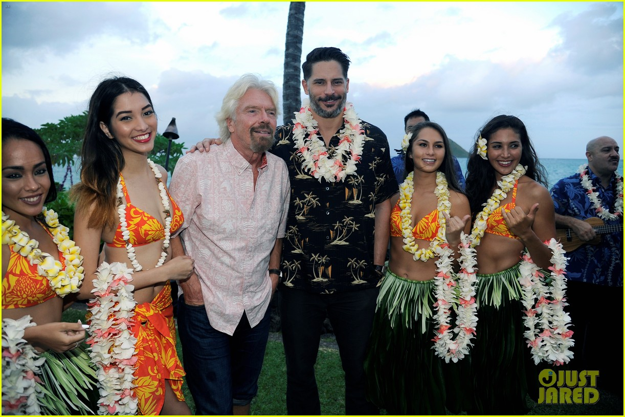 joe manganiello gets leid upon arrival in hawaii 013499240