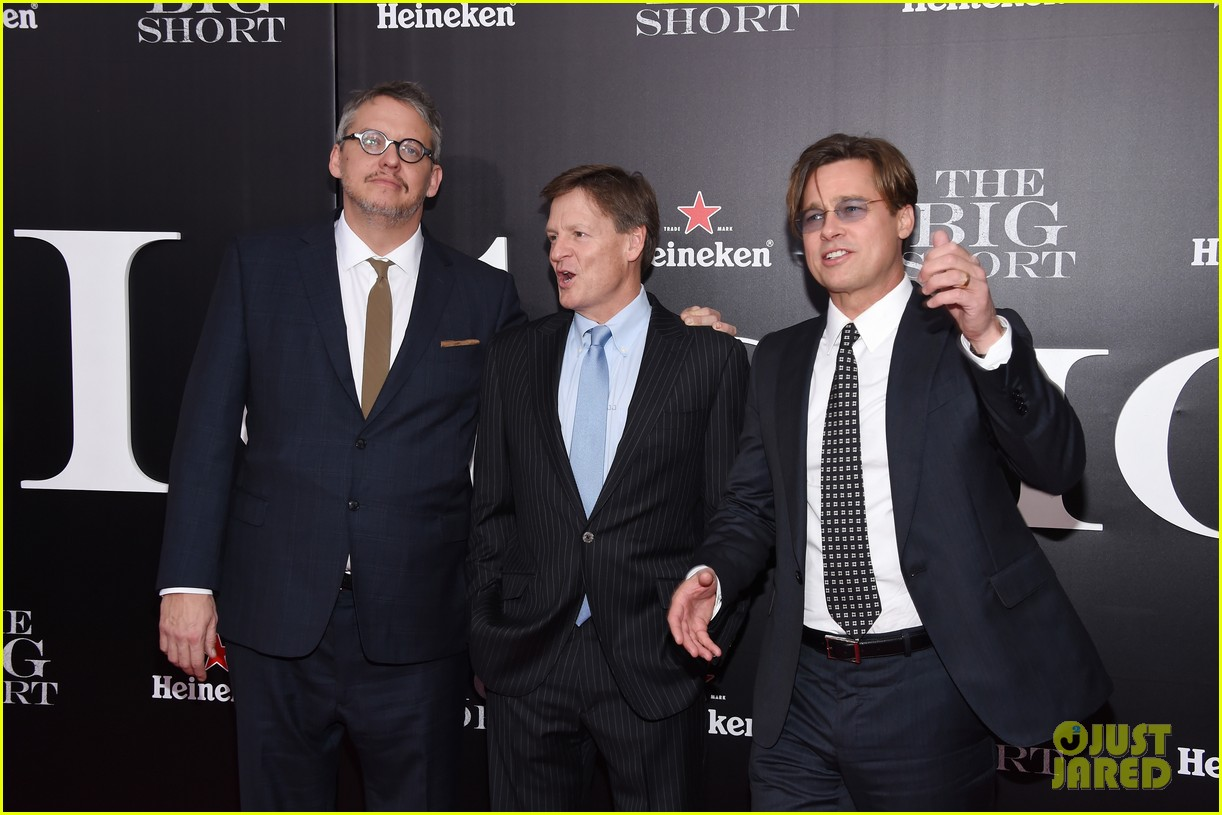 brad pitt ryan gosling the big short premiere 123516966