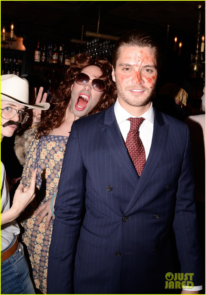 Mark Salling Dresses as Jared Eng at the JJ Halloween Party ...