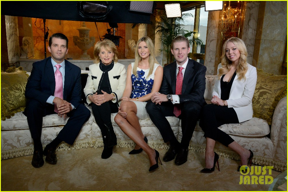 Full Sized Photo of donald trumps kids reveal who his favorite child ...
