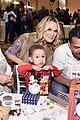 jessica alba gets festive with family at baby2baby holiday party 06