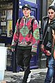 brooklyn beckham jets back to london christmas 24