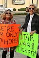 carrie fisher ellen degeneres try to sell star wars tickets 02