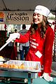 emmy rossum pharrell feed homeless christmas eve 10