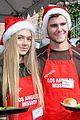 emmy rossum pharrell feed homeless christmas eve 25