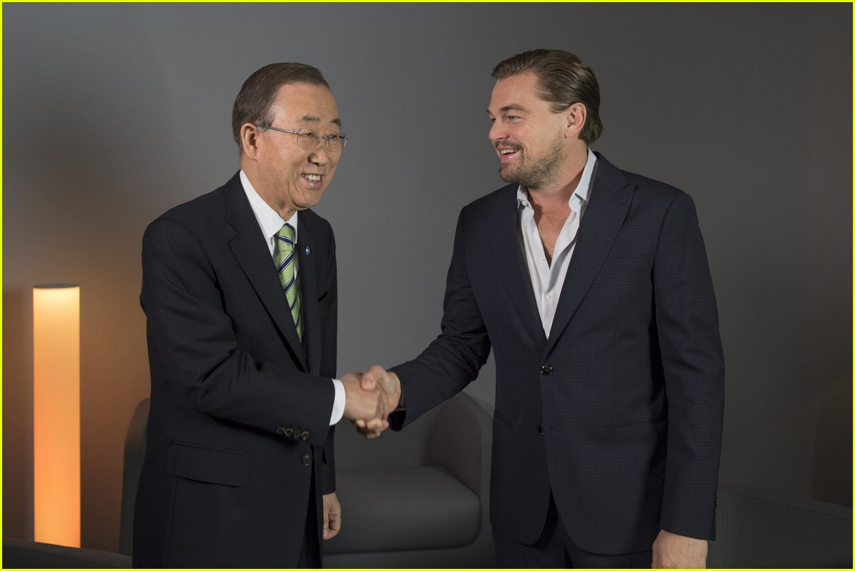 leonard dicaprio paris climate change summit 013523499
