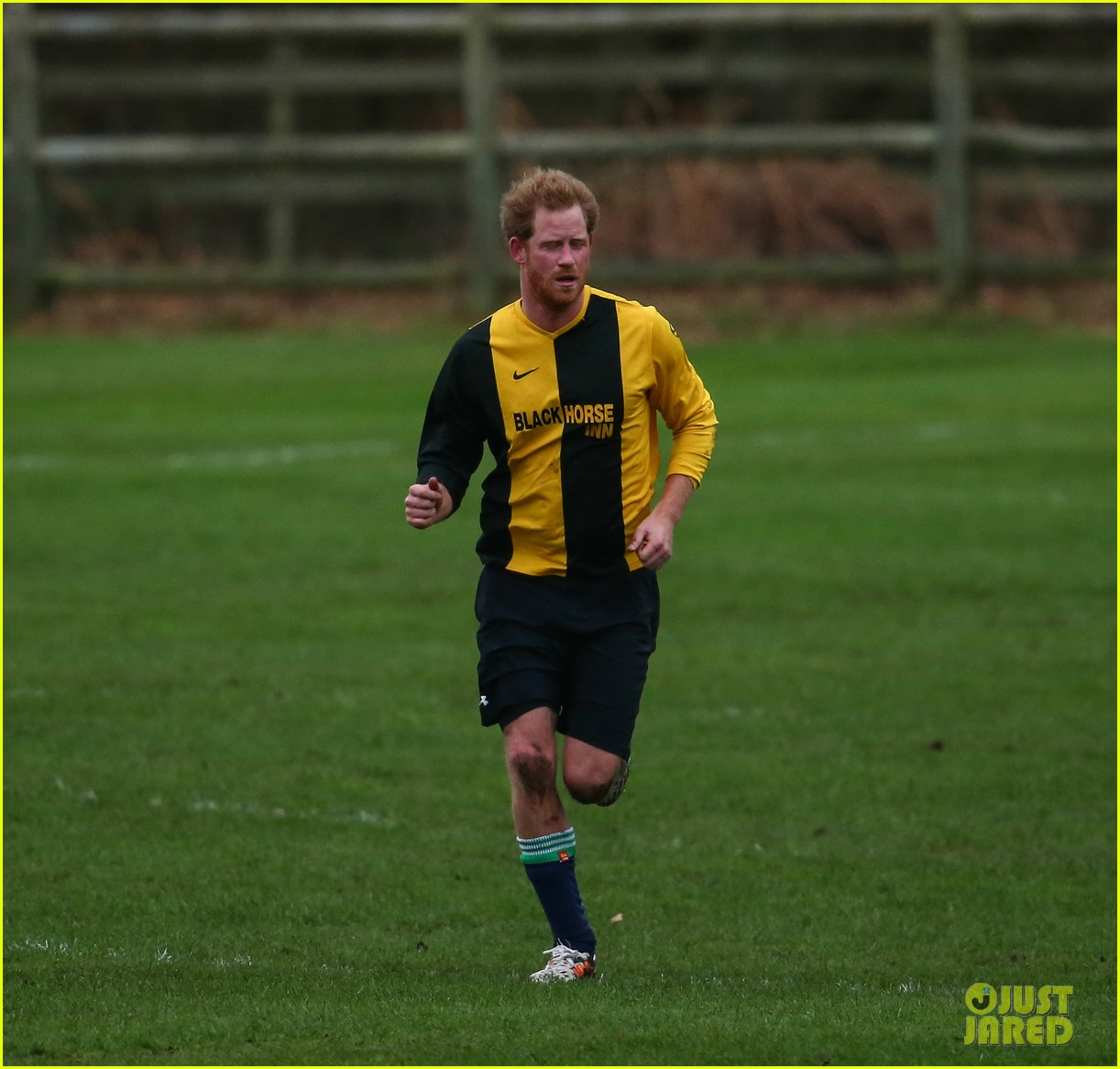 Prince William & Prince Harry Compete In Annual Christmas