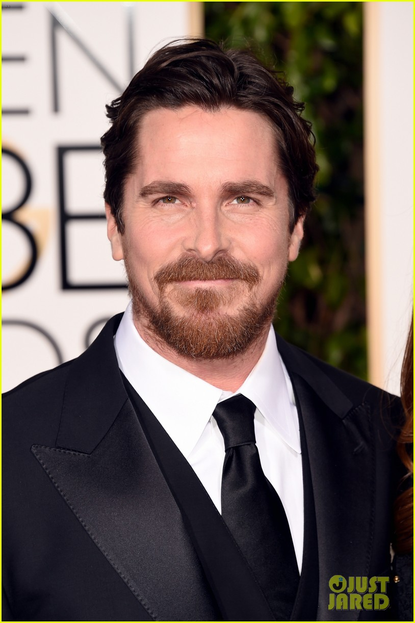 Christian Bale Sports Some Sexy Scruff at Golden Globes 2016: Photo ...