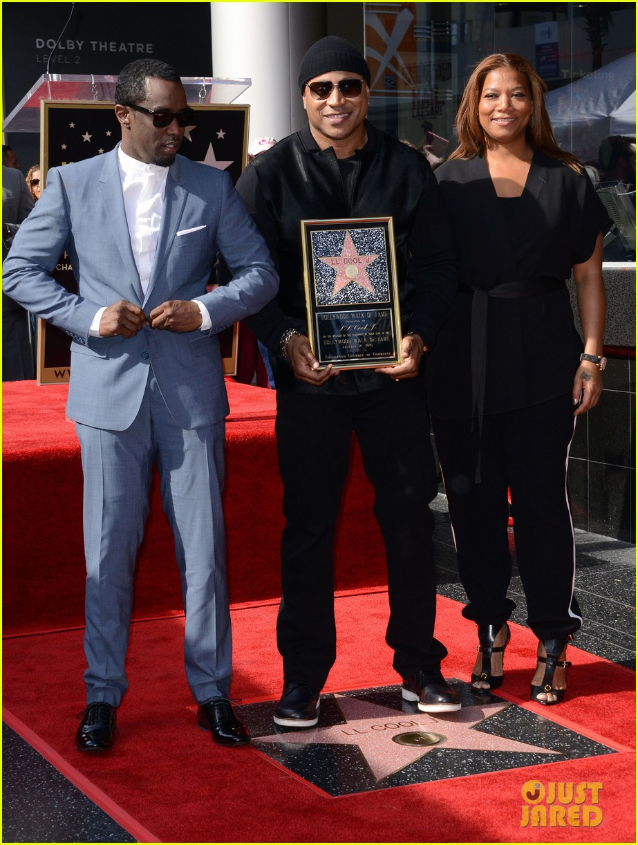ll cool j gets honored with star on the hollywood walk of fame