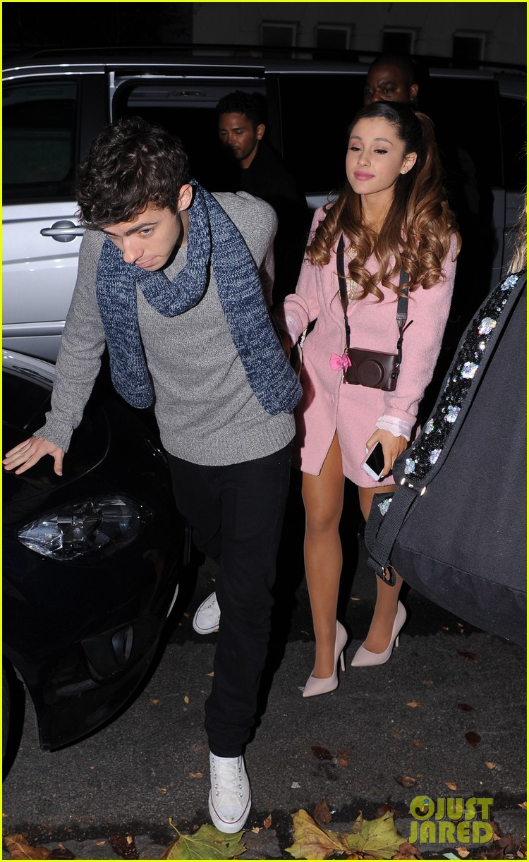 Ariana Grande Dating Nathan Sykes Again