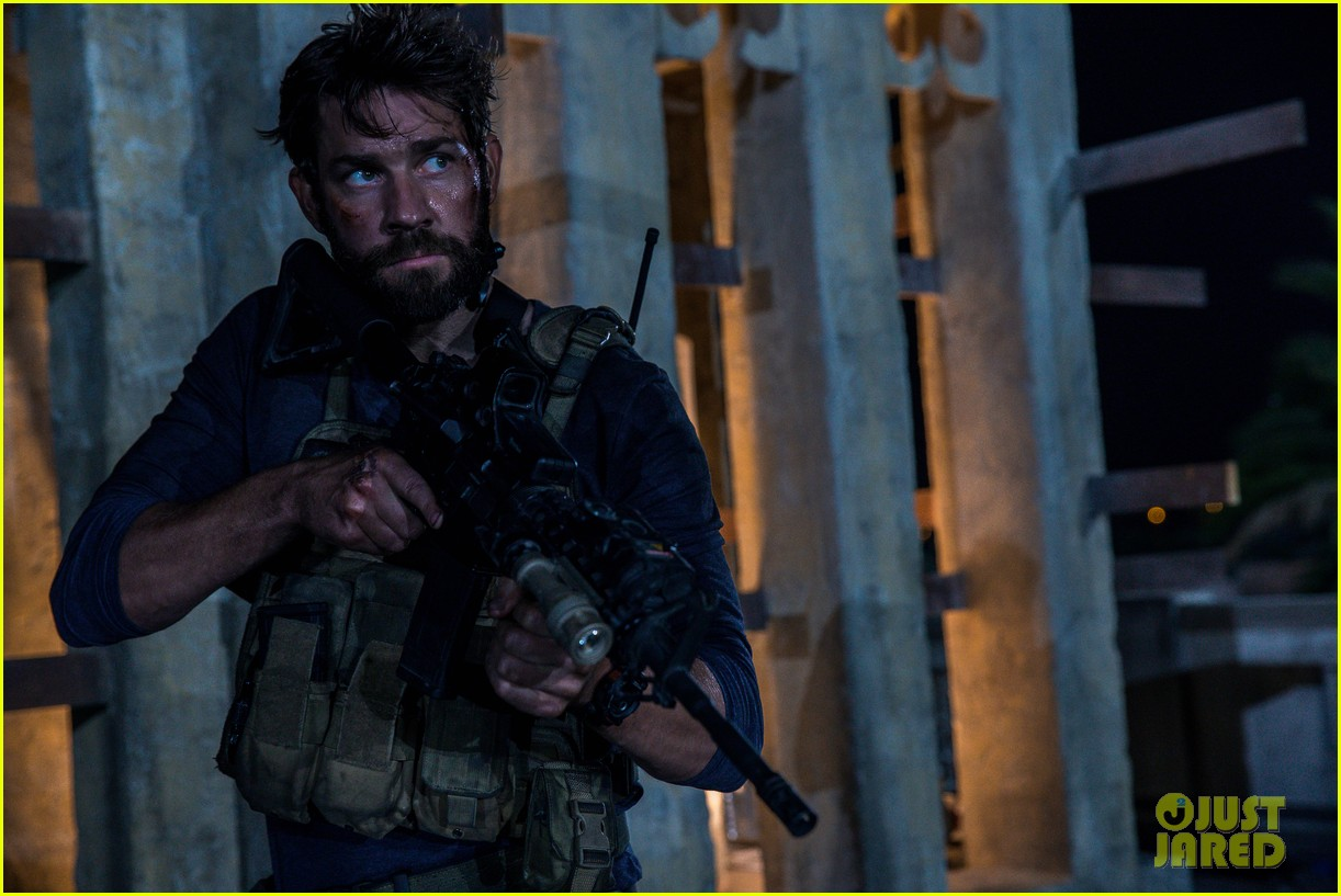 john kransinski goes shirtless in new 13 hours photo 053553123