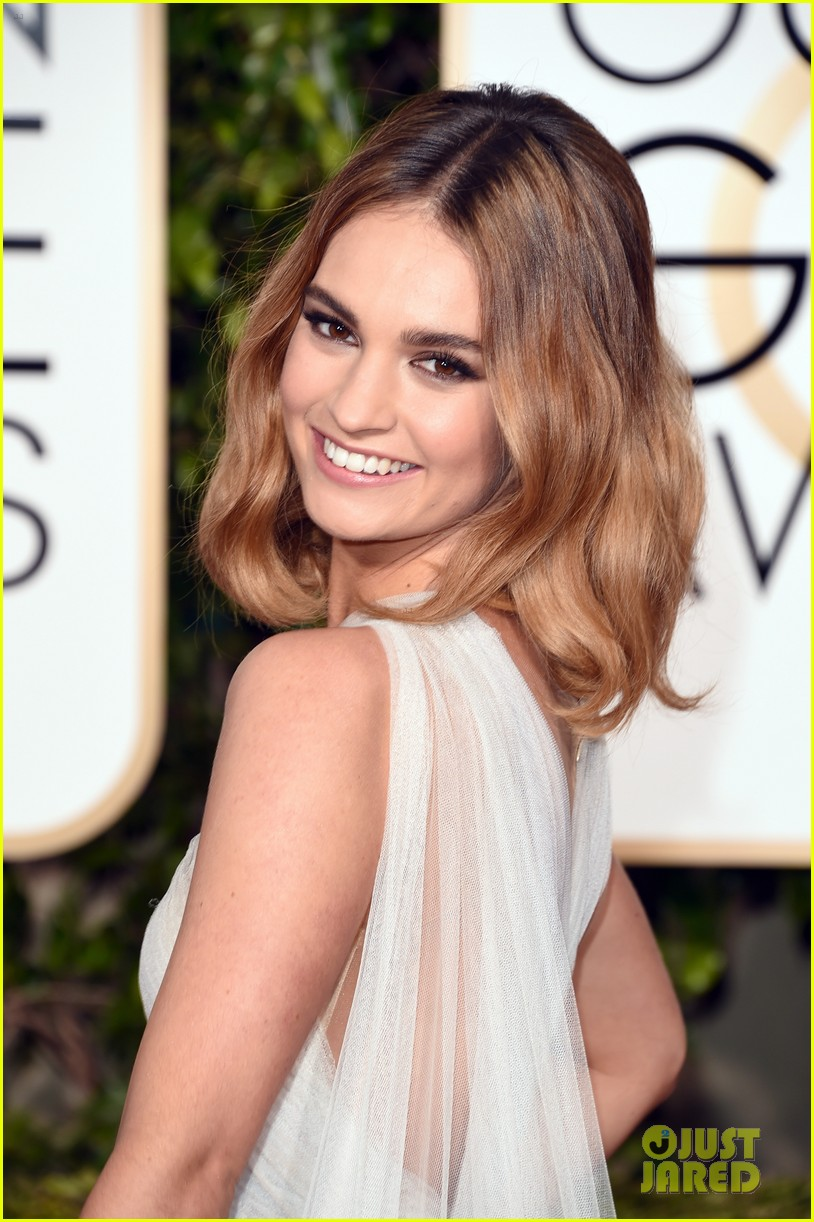 lily james joanne froggatt 2016 golden globes 043548541