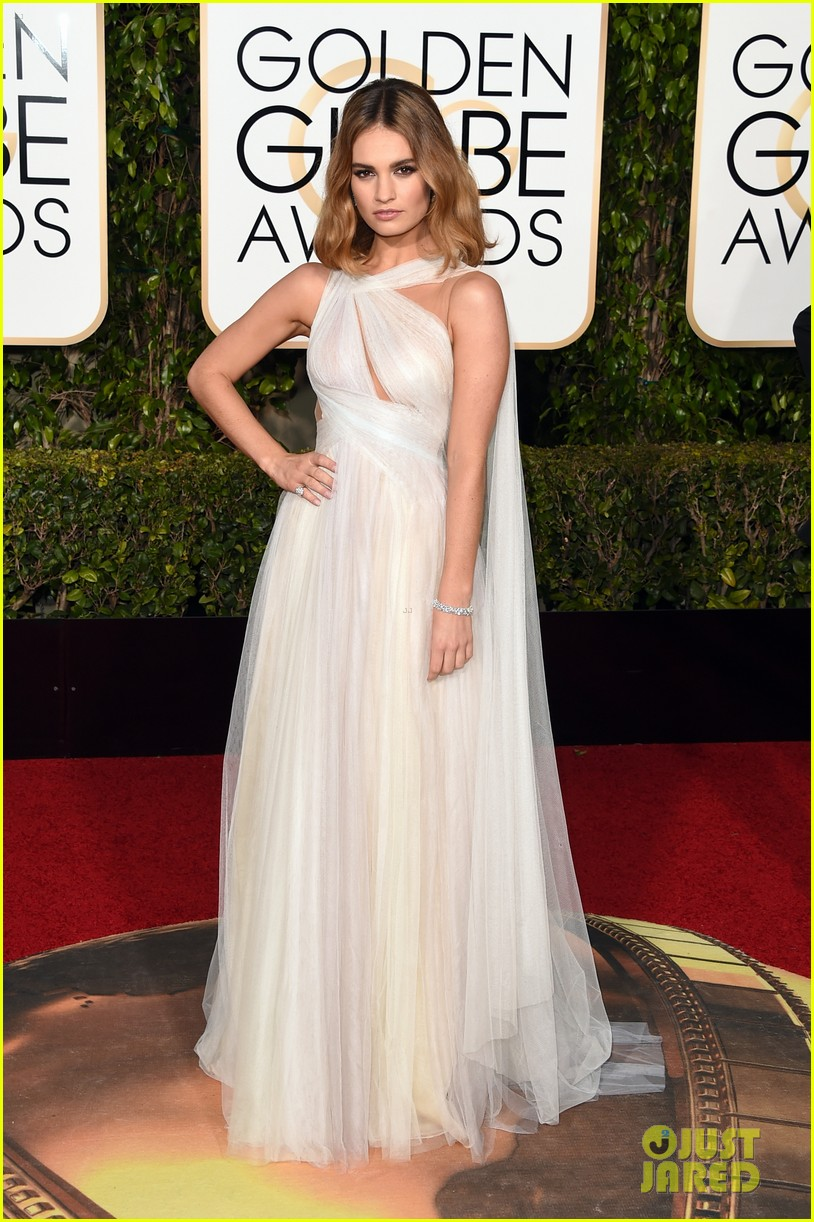 lily james joanne froggatt 2016 golden globes 053548542