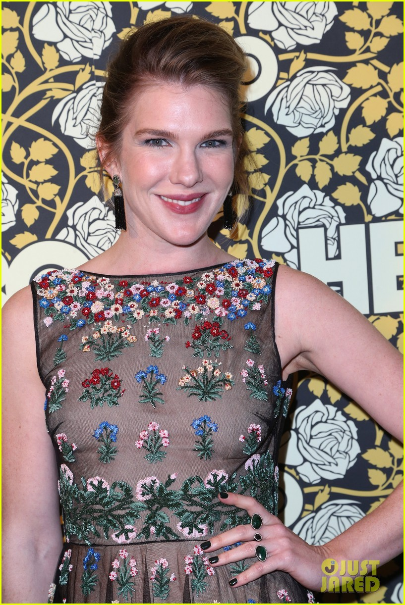 lily rabe chyenne jackson ahs cast live it up at golden globes 2016 253549471