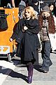 pregnant keri russell goes incognito on the americans set 03