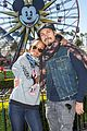 zoe saldana celebrates new years eve at disneyland 04