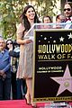 america ferrera helps honor latino rock group mana on hollywood walk 17
