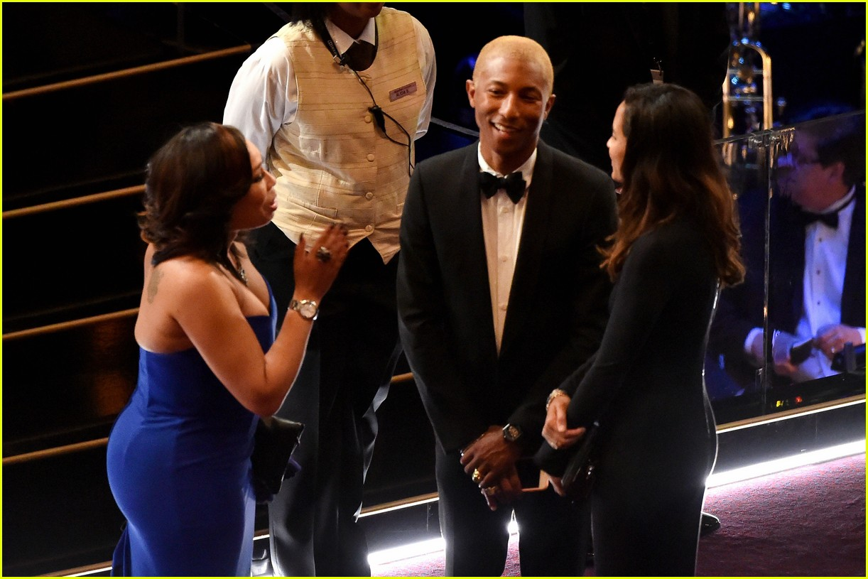 Pharell Williams & Helen Lasichanh Chat With Attendees in ...