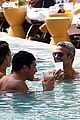 andy cohen shirtless pool easter miami 03