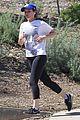 kate mara jamie bell go for a jog 08