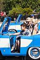 gwen stefani takes her son kingston to disneyland cars land 06