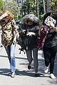 khloe kardashian kendall jenner kylie jenner disguise run from photographers 21