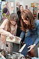 kate middleton officially opens charity shops in london 12