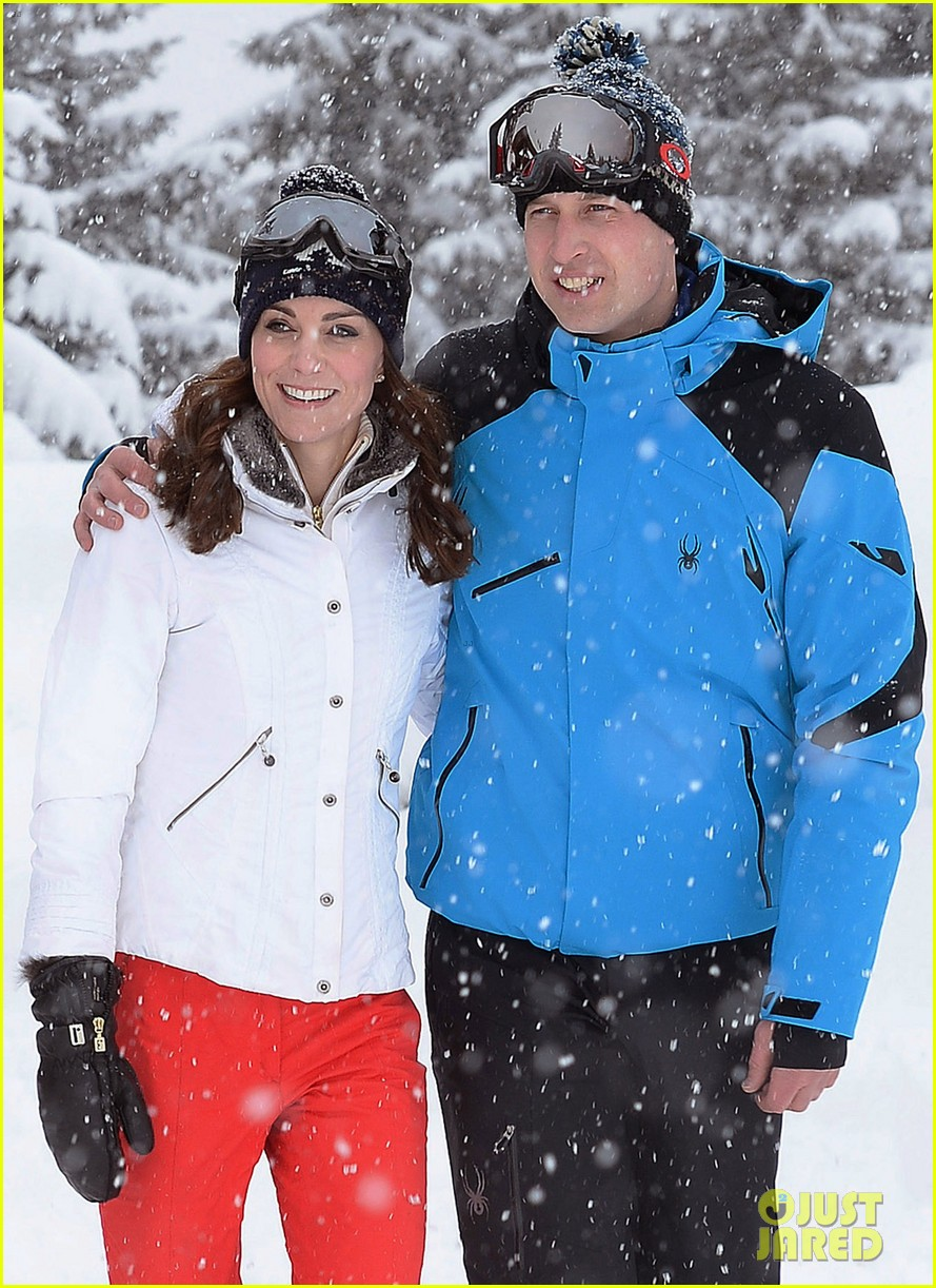 prince william kate middleton family ski trip george charlotte 103599433