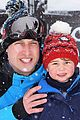 prince william kate middleton family ski trip george charlotte 06