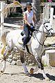 iggy azalea rides horse after team video 08