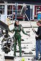 elizabeth banks films stunts as rita repulsa 17