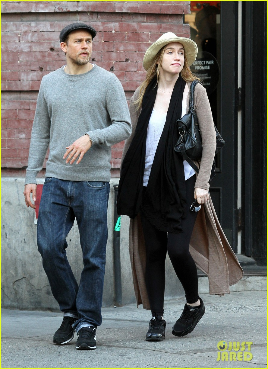 You Charlie hunnam and his wife
