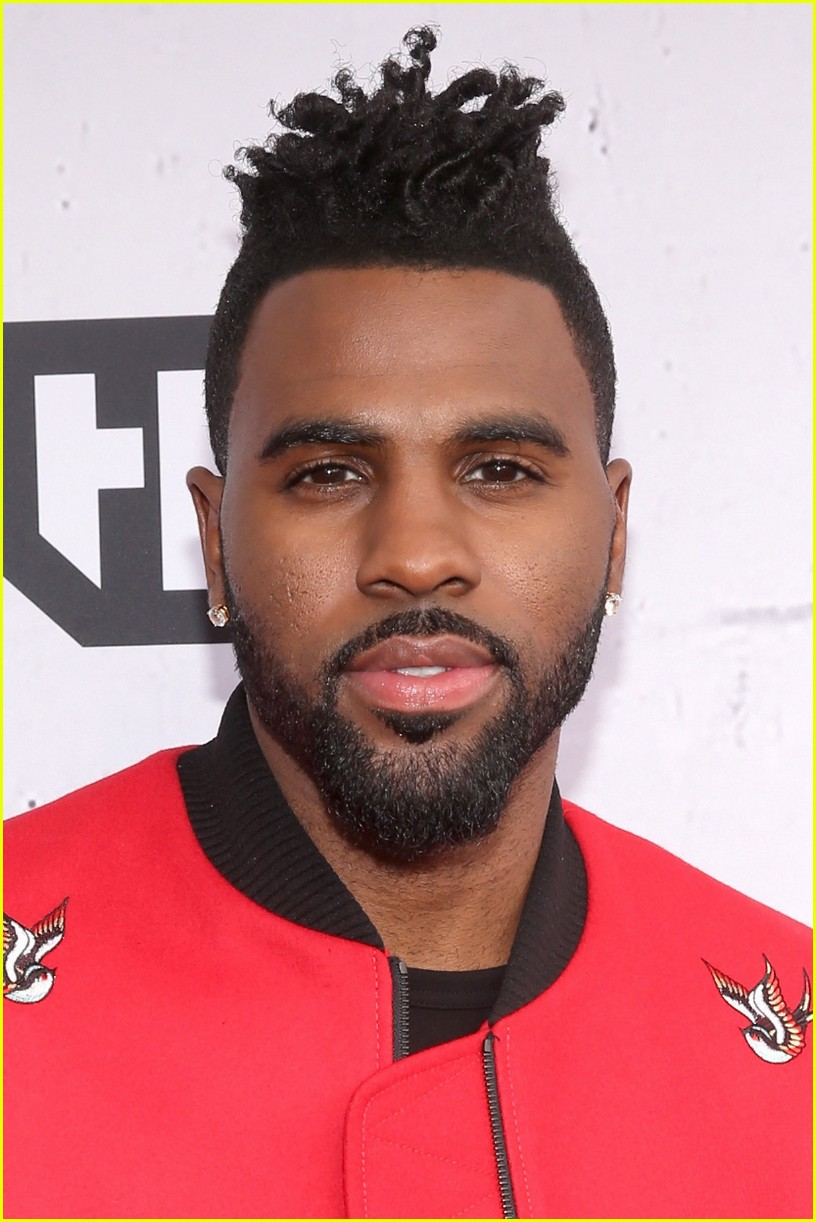 Jason Derulo Arrives to Host iHeartRadio Music Awards 2016 ...