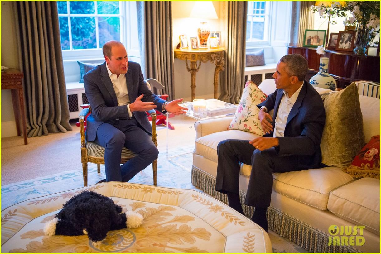 Full Sized Photo Of Prince George Wears Stylish Pajamas To Meet The Obamas 09 Photo 3637966