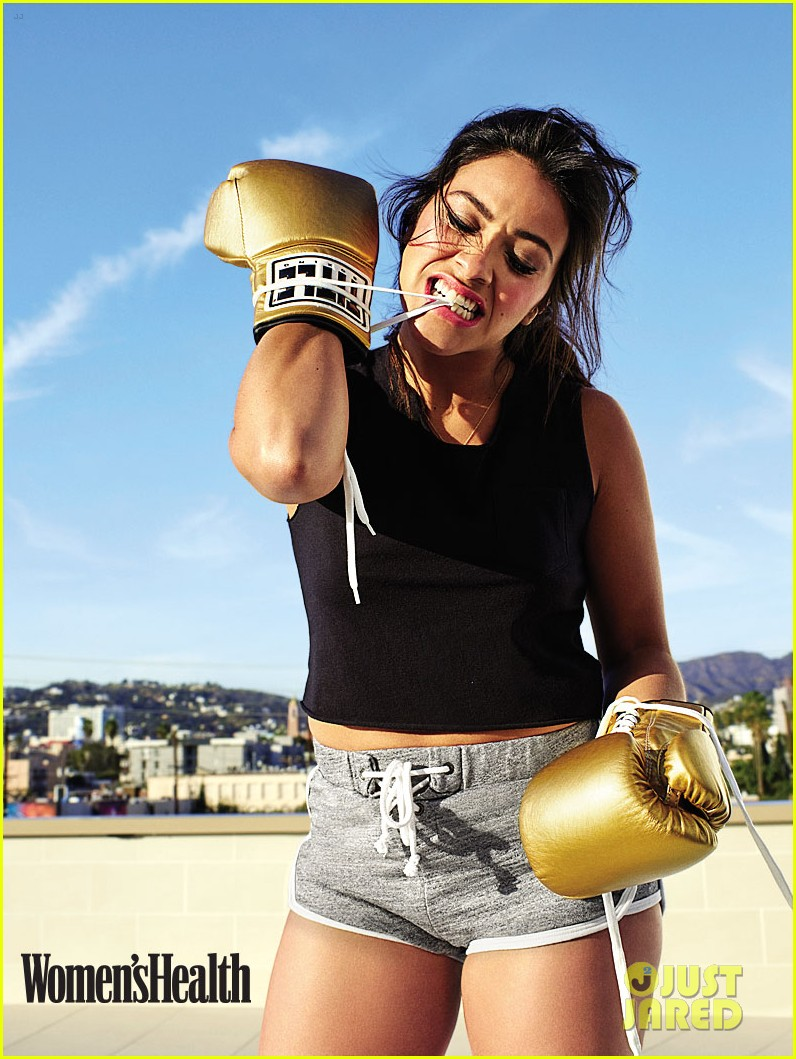 gina rodriguez womens health cover pics 05 - Horizon Weight Loss
