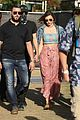 miranda kerr masked evan spiegel hold hands at coachella 07