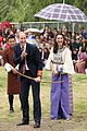 prince william kate middleton recieve warm welcome by king queen bhutan 05