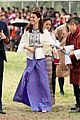 prince william kate middleton recieve warm welcome by king queen bhutan 21