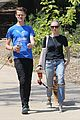 amanda seyfried takes finn for a walk with a friend 12