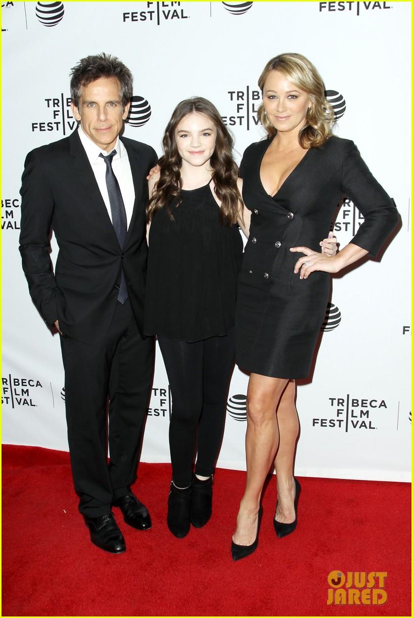Ben Stiller Supports Wife Christine Taylor at 'Little ...