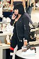 blac chyna shows off baby bump while shoe shopping 17
