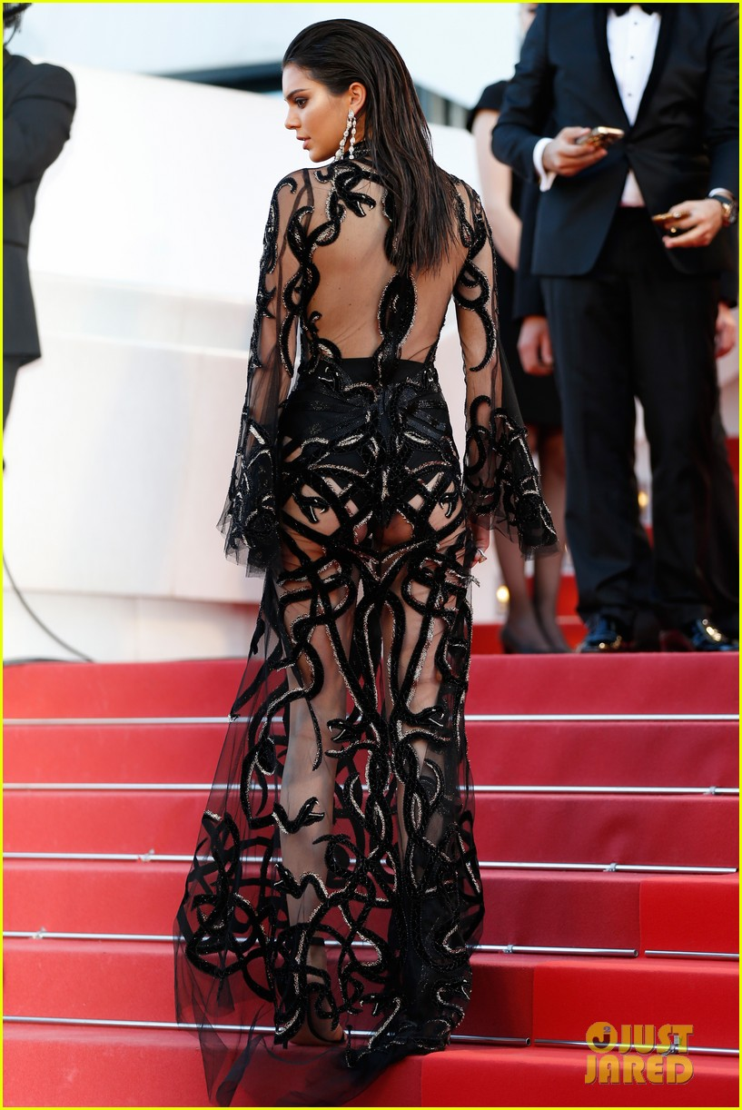 Kendall Jenner Wows In Sheer Dress After Jet-Skiing In Cannes ...